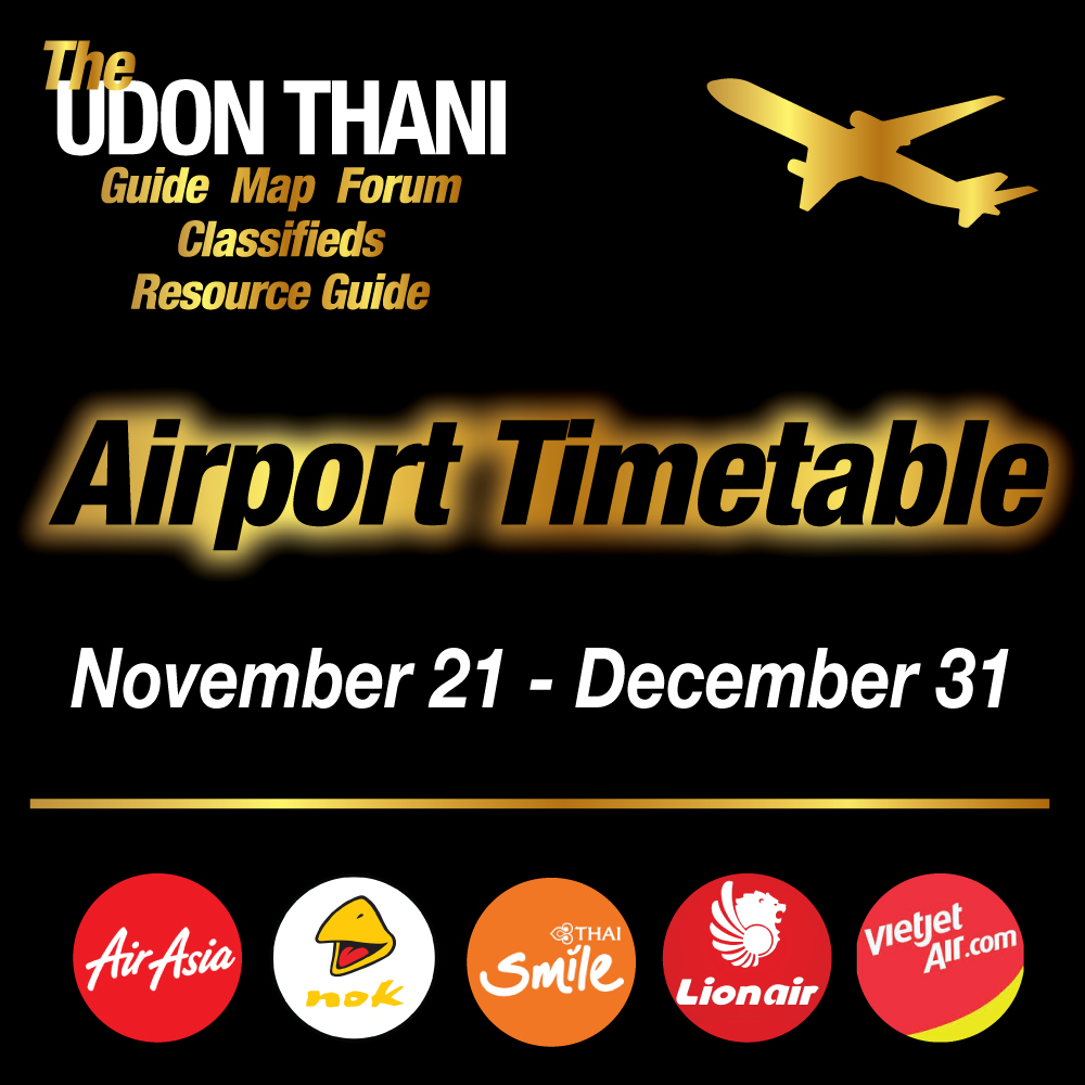 Udon Thani Airport Update